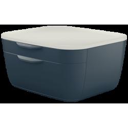 Pojemnik z szufladami Leitz Cosy - szary