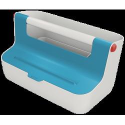 Pojemnik z uchwytem Leitz Cosy - niebieski