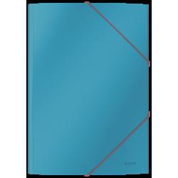 Teczka kartonowa z gumką Leitz Cosy A4 - niebieski