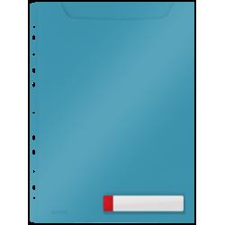 Obwoluta z folii Leitz Cosy A4 o zwiększonej pojemności - niebieska