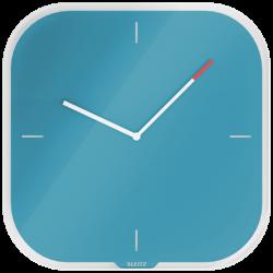 Zegar ścienny Leitz Cosy - niebieski