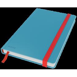 Notatnik Leitz Cosy w kratkę, oprawa twarda - niebieski