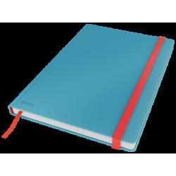 Notatnik Leitz Cosy B5 w kratkę, oprawa twarda - niebieska