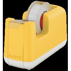 Podajnik do taśmy klejącej Leitz Cosy - żółty