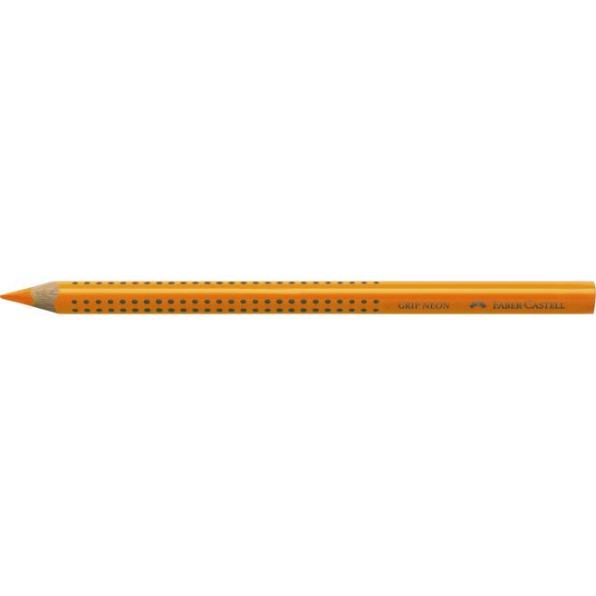 Kredka JUMBO GRIP neon - Zakreślacz - kolor pomarańczowy