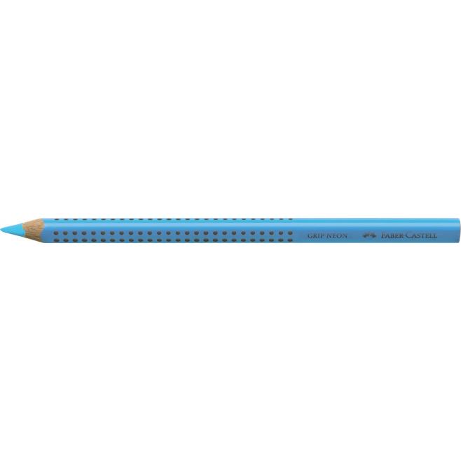 Kredka JUMBO GRIP neon - Zakreślacz - kolor niebieski