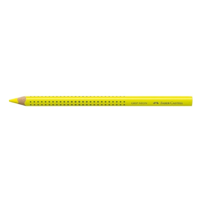 Kredka JUMBO GRIP neon - Zakreślacz - kolor żółty