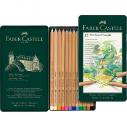 Kredki pastelowe Pitt Faber-Castell - 12 kolorów