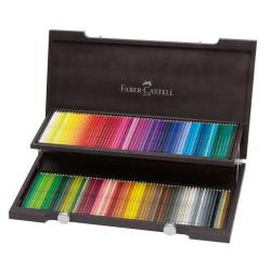 Kredki akwarelowe Albrecht Dürer Faber-Castell - 120 kolorów/ drewniana kaseta