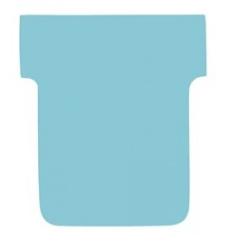 Karteczki T-Card Nobo, rozmiar 2 niebieskie/100szt.
