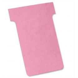 Karteczki T-Card Nobo, rozmiar 2 fioletowe/100szt.