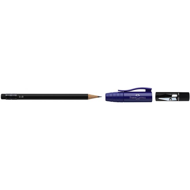Ołówek grafitowy PERFECT II - B - niebieski