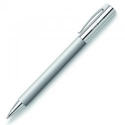 Długopis Ambition Faber-Castell - Metal, srebrny