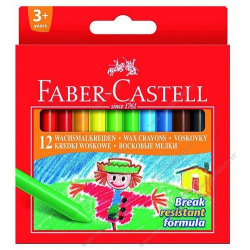 Kredki świecowe - 12 kolorów