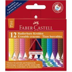 Kredki świecowe GRIP - 12 kolorów