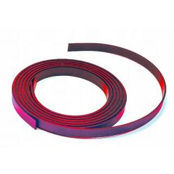 Taśma Nobo 5mmx2m - magnetyczna czerwona