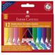 Kredki świecowe GRIP JUMBO - 12 kolorów