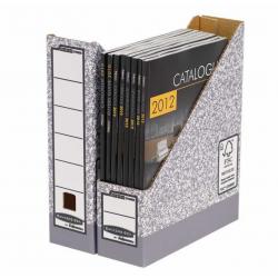 Pojemnik kartonowy na czasopisma Fellowes Banker Box 80mm/1szt.