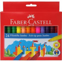 Pisaki JUMBO - 24 kolory