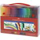 Pisaki Faber-Castell Connector - Walizka - 60 koloró