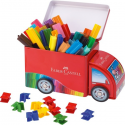 Pisaki Faber Castell Connector - Ciężarówka - 33 kolory