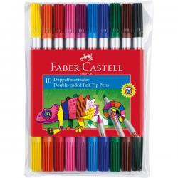 Pisaki dwustronne - 10 kolorów