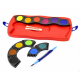 Farby akwarelowe CONNECTOR - 12 kolorów + pędzelek