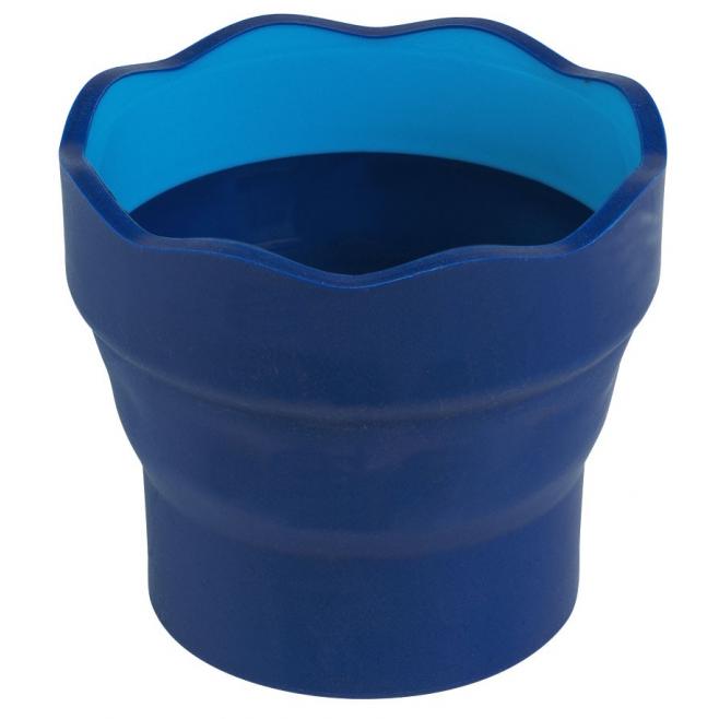 Pojemnik na wodę CLIC&GO - kubeczek - niebieski