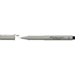 Cienkopis pigmentowy Ecco Faber-Castell 0,2mm - czarny