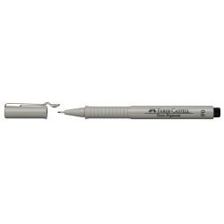 Cienkopis pigmentowy Ecco Faber-Castell 0,6mm - czarny