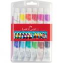 Farby tempery w tubkach - 12 kolorów