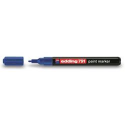 Marker olejowy Edding 791 - niebieski