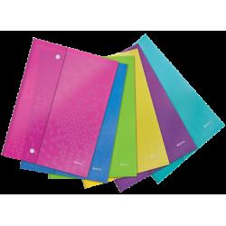 Teczka kopertowa Leitz WOW A4/6szt. mix kolorów