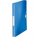 Teczka z gumką PP Leitz WOW, 30 mm - niebieska