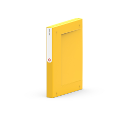 Segregator  Moxom NewBinder - 35 mm - żółty
