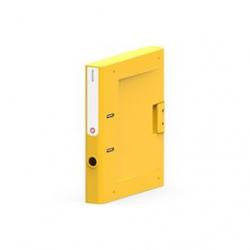 Segregator  Moxom NewBinder - 50 mm - żółty
