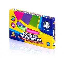 Modelina Fluorescencyjna Astra - 6 kolorów