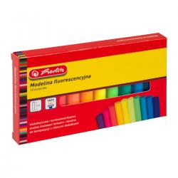 Modelina fluorescencyjna Herlitz  - 10 kolorów