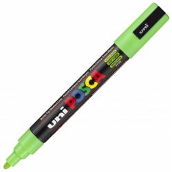Marker z farbą plakatową Uni POSCA PC-5M - jabłkowo zielony
