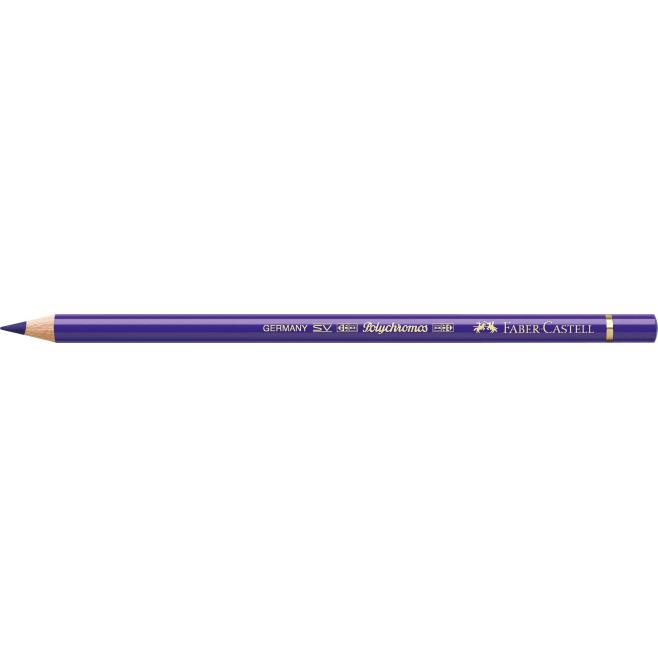 Kredka POLYCHROMOS - 137 - blue violet  /niebiesko-fioletowy/