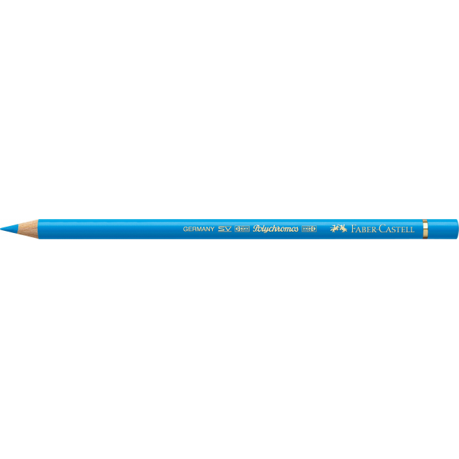 Kredka POLYCHROMOS - 152- middle phthalo blue /niebieski/