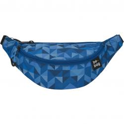 Saszetka nerka biodrówka Herlitz Be.Bag Be.Agile - Magic Triangle Blue
