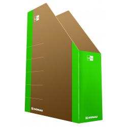 Pojemnik kartonowy na dokumenty Donau Life A4 80mm - zielony