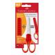 Nożyczki Faber Castell Grip 13,5 cm - czerwone