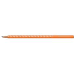Ołówek grafitowy SPARKLE - pomarańczowy