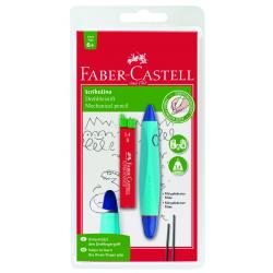 Ołówek skrętny Scribolino - niebieski + grafity