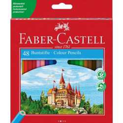 Kredki ołówkowe ZAMEK - 48 kolorów