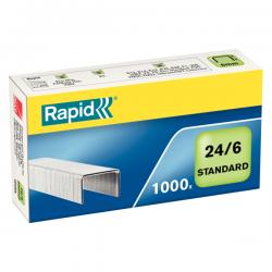 Zszywki Rapid Standard Nr 24/6 - 1000szt.
