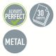Dziurkacz duży metalowy Leitz Style - seledynowy