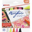 Markery akrylowe Edding 5000 neonowe - 5 kolorów